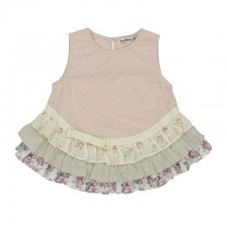 Arthur Ave Layered Top   ***  Size 4y  ***