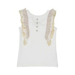 Arthur Ave Frilly Wing Top