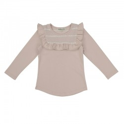 Arthur Ave Rose Detailed Top