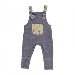 Arthur Ave Soft Denim Overalls