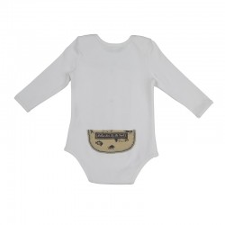 Arthur Ave Fish Long Sleeve Onesie