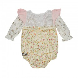 Arthur Ave Tiny Rose Floral Playsuit