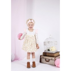 Arthur Ave Tiny Rose Long Sleeve Play Dress
