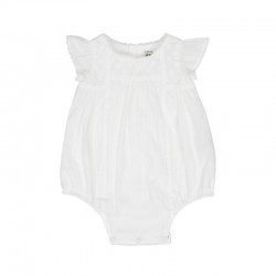 Arthur Ave Milk White Bib