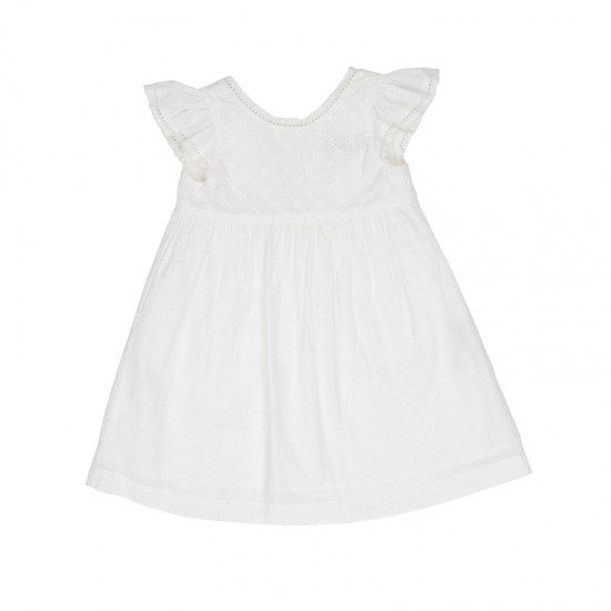Arthur Ave Milk White Dress