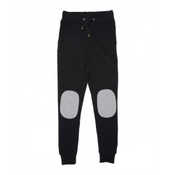 Band of Boys Knee Patch Trackies Black
