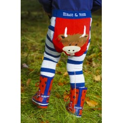 Blade and Rose Highland Cow Leggings