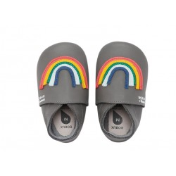 Bobux Soft Sole Imagine Rainbow