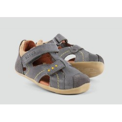 Bobux Step Up Chase Sandal Smoke