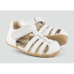 Bobux Step Up Jump Sandal White
