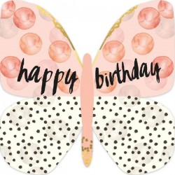 Gift Card  |  Happy Birthday Butterfly Card