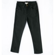 Carbon Soldier Dunstan Skinnies  with Wreath Pocket Embroidery  12-24m,   4y