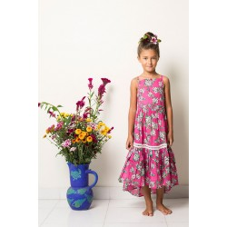 Coco & Ginger | Cerise Almond Blossom | Lilac Dress      ***   Size 2y  ***