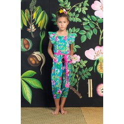 Coco & Ginger | Wilde Jumpsuit |Sea Anenome      ***  Sizes 2 and 3y  ***