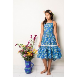 Coco & Ginger |Stealing Beauty |Lilac Dress | Periwinkle Almond Blossom