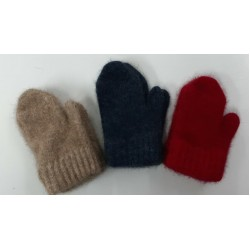 Cosy Kiwi Merino Wool and Possum Mittens