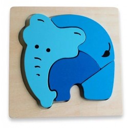 Discoveroo Chunky Puzzles