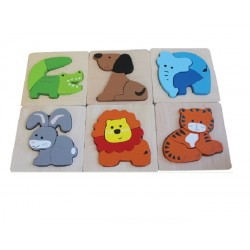 Discoveroo Chunky Animal Puzzles