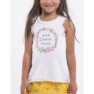 Eve's Sister Wildflower Tank      3 - 7y