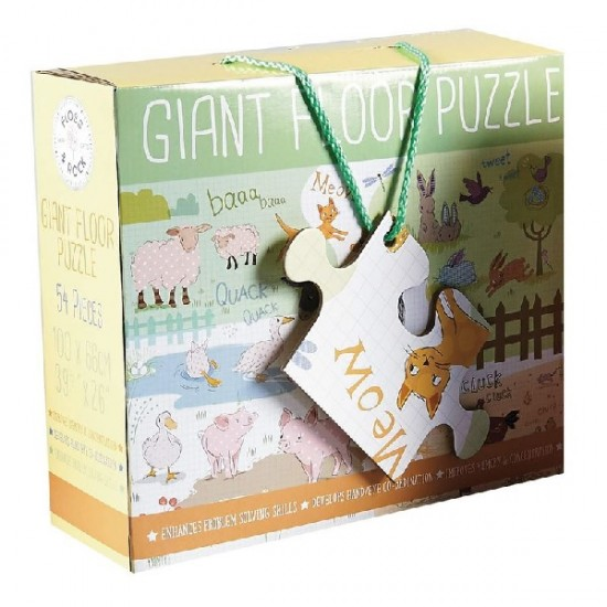 Floss and Rock Floor Puzzle - Farmyard Friends