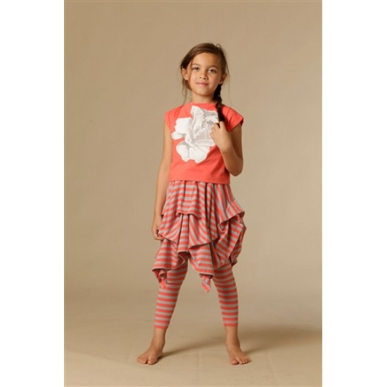 KidCuteTure | Rose Tee - Coral