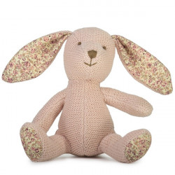 Lily and George  Beatrix Bunny Stick Rattle   -  WLG-781
