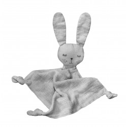 Lily and George Linen Bunny Toy | Grey