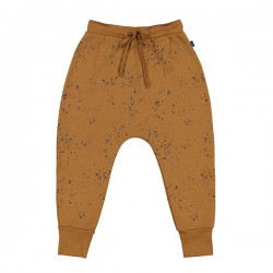 Little Flock of Horrors Merino  |  Mustard Drop Crotch Pant