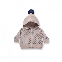 Minti Baby | Chevron Knit Zippy   ***  0-3m  ***