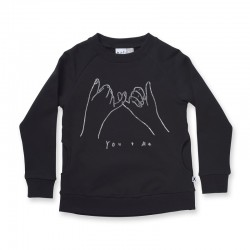 Minti You & Me Furry Crew | Black    ***  Size 5  ***