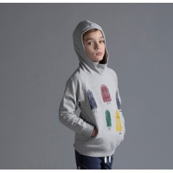Minti  |  Sneaky Team Furry Hood     ***  Sizes 3y  and 5y  ***