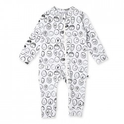 Minti Baby Spot the Snowman Zippy Suit