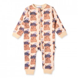 Minti Baby Toasty Teddy Furry Zippy Suit