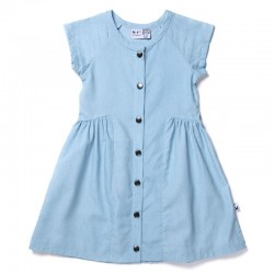 Minti Chambray Dress