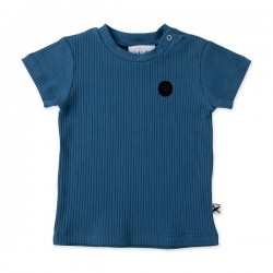 Minti Baby | Deluxe Rib Tee - Electric Blue
