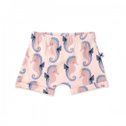 Minti Baby | Painted Seahorses Short