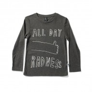 Minti Long Sleeve Tee All Day Radness     *** Size 14  ***