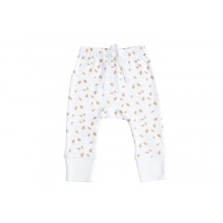 NIOVI Organics Gold Autumn Leaves Baby Leggings