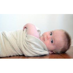 Native World | Heirloom Baby Blanket - Merino Possum Silk