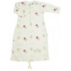 Nature Baby Organic Cotton Drawstring Gown