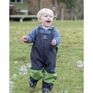 Puddle Jumpers Original Overall in Navy/Avocado