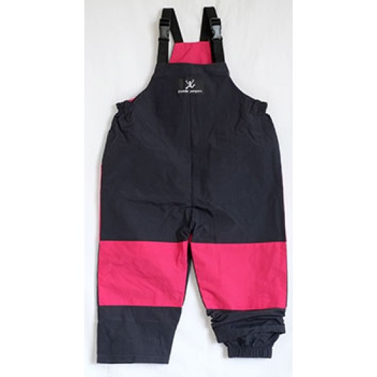 Puddle Jumpers Original Overall in Navy/Raspberry