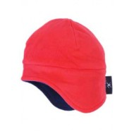 Puddle Jumpers Sherpa Hat in Red/Navy