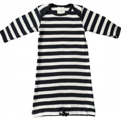 Pureborn  Organic Cotton Black Stripe Sleep Sack