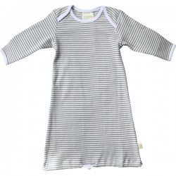 Pureborn Organic Cotton Grey Stripe Sleep Sack