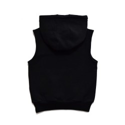 Rad Tribe  | TRIBE SLEEVELESS HOOD in BLACK/SPECKLE   ***  Size  8y  ***