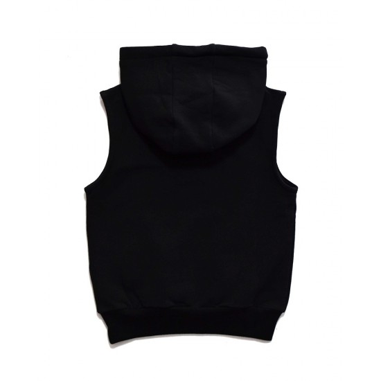 Rad Tribe  | TRIBE SLEEVELESS HOOD in BLACK/SPECKLE