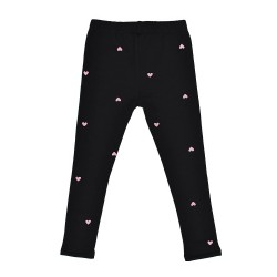 Kissed | HEART BEAT LEGGING in BLACK  *Kissed by Radicool*    ***  Size 12y ***