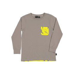 Radicool Dude  | RD1501 NEON BOLT POCKET L/S TEE