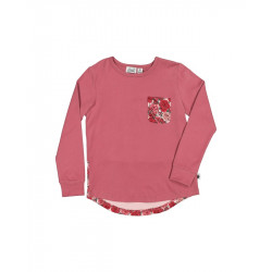 Kissed by Radicool | KR1422 DUSKY ROSE L/S TEE